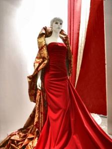 Este vestido, si no recuerdo mal, se utilizó para la apertura de la tienda de Mesones, 27